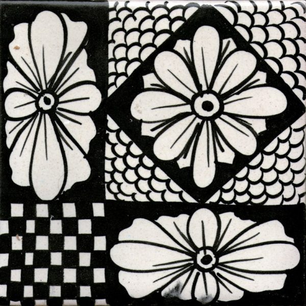 Piastrelle con decoro Amalfi in ceramica di Vietri Solimene Art