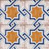 Piastrelle con decoro Atrani in ceramica di Vietri solimene art