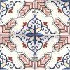 Piastrelle con decoro Molina in ceramica di Vietri solimene art