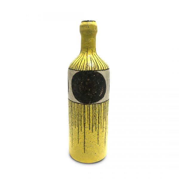 Bottiglie segno irregolare in ceramica di Vietri Solimene Art (2)