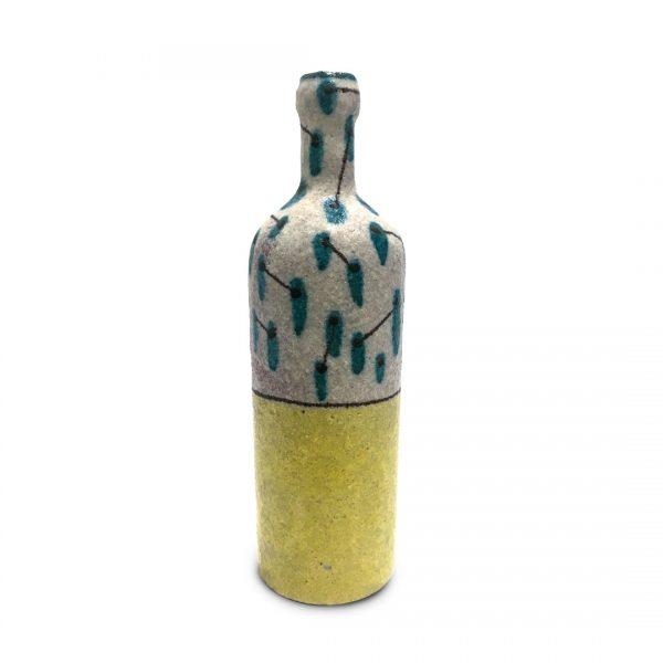 Bottiglie segno irregolare in ceramica di Vietri Solimene Art (3)