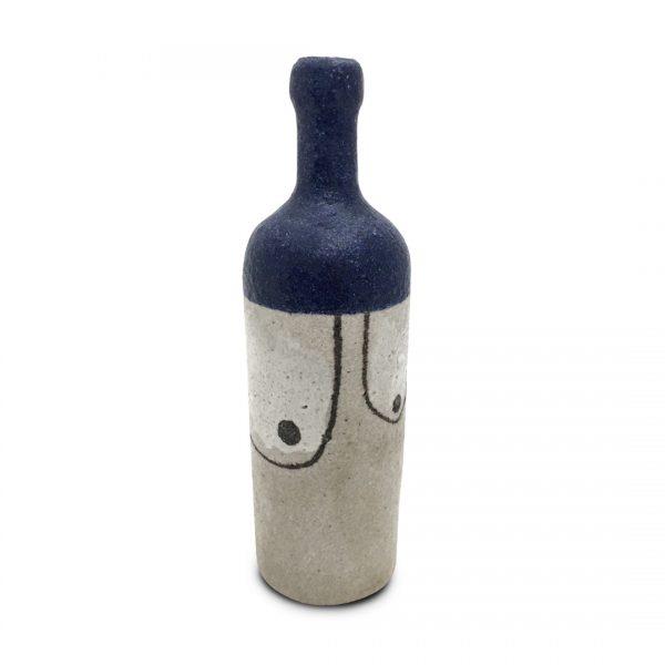 Bottiglie segno irregolare in ceramica di Vietri Solimene Art (5)