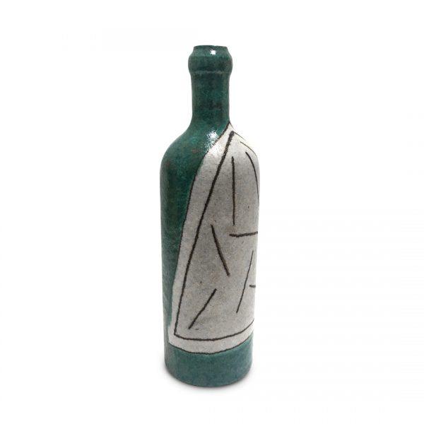 Bottiglie segno regolare in ceramica di Vietri Solimene Art (3)