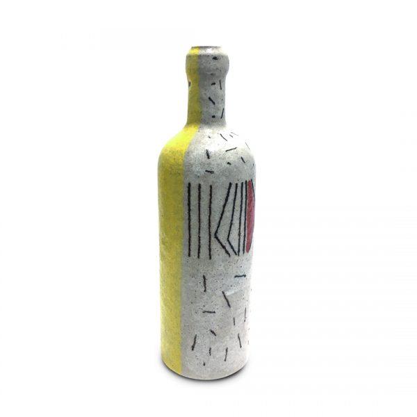 Bottiglie segno regolare in ceramica di Vietri Solimene Art (4)
