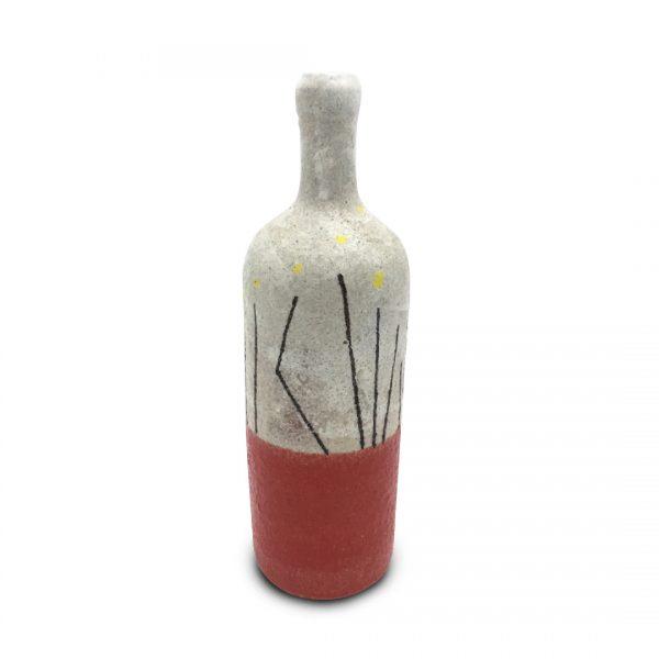 Bottiglie segno regolare in ceramica di Vietri Solimene Art (5)