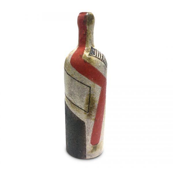 Bottiglie segno regolare in ceramica di Vietri Solimene Art