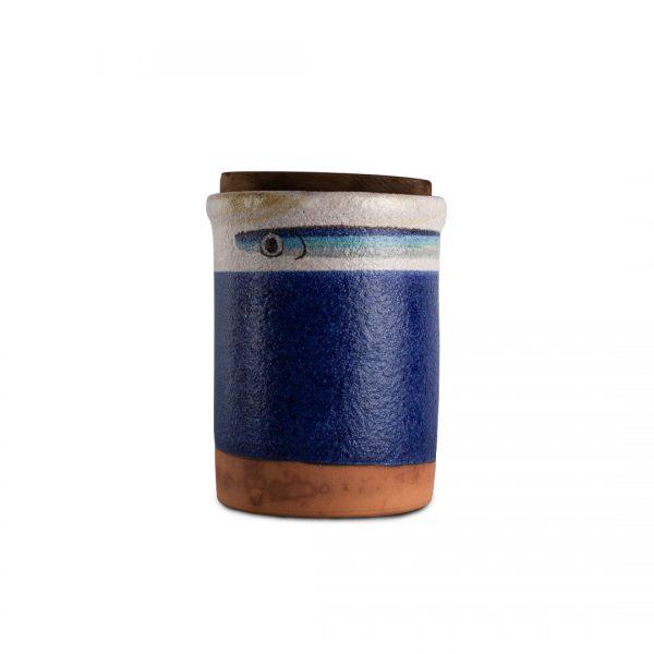 barattolo Alici in ceramica di Vietri Solimene Art