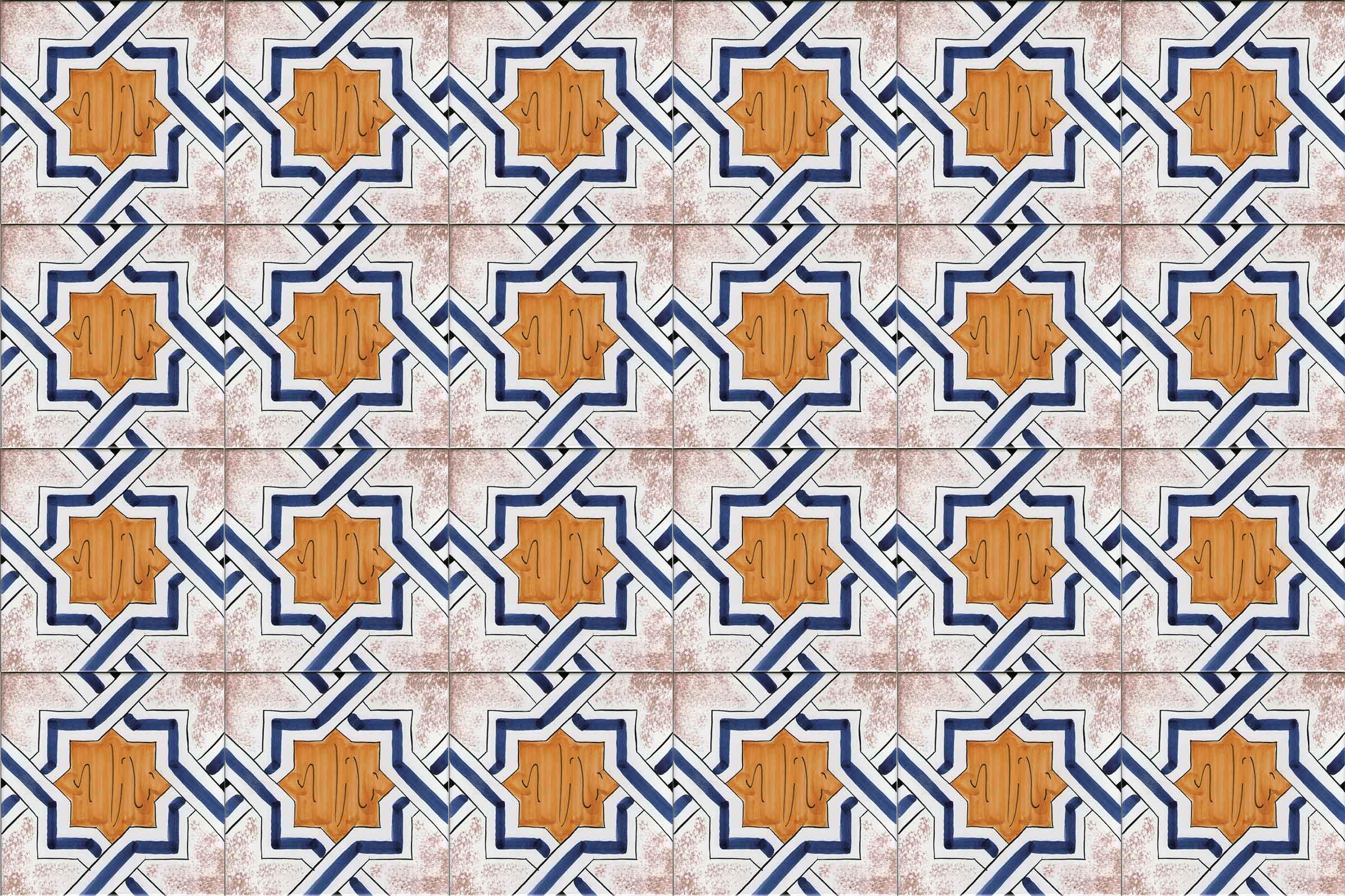Piastrelle Decorative Per Tavoli piastrelle e mattonelle in ceramica di vietri > solimeneart