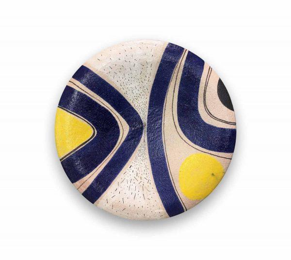 piatto-murale-cm-60-cod.06 solimene art ceramica di vietri